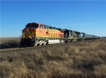 BNSF 5435 & Some Illinois Central Friends Lead a Short Local Freight North To Garretson, SD
