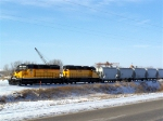 New to this Site: DAIR 4027 & 4028 Move a Cut of Cars at an LG Everist Rock Quarry