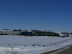 These Locomotives Have Been in the Sioux Falls Area for a Couple of Months now, Doing Local Work