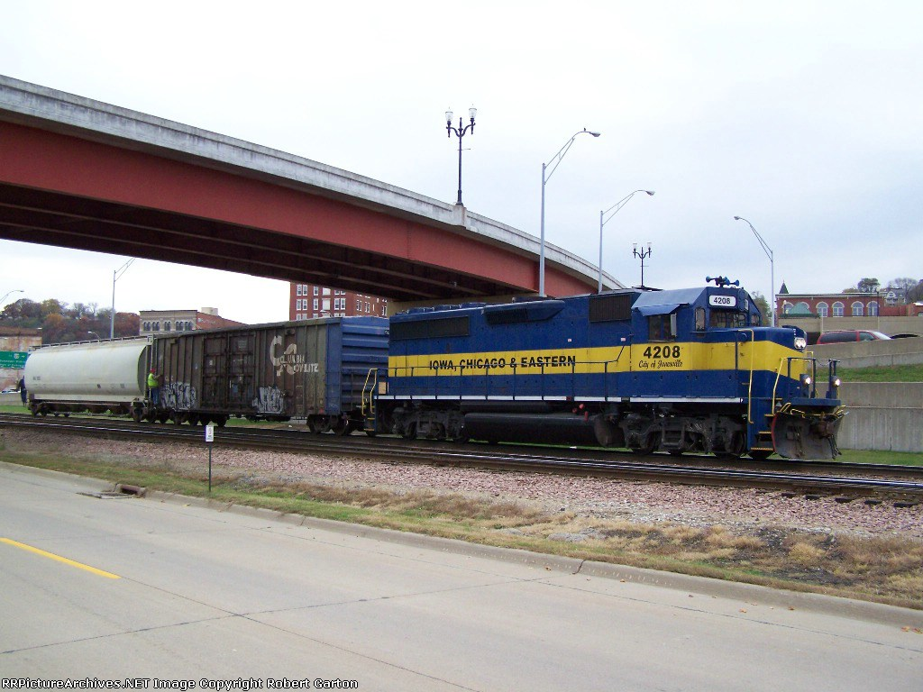 Short Local Headed for Interchange with the CN