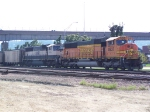 BNSF Coal Train on the CN