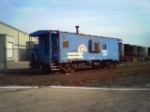 Ex-Conrail Caboose at Stout Field