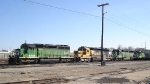 3 BNSF SD40 variants