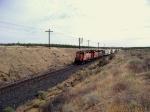 PCC grain train prepares to stop