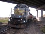 BAR 360 and PCC 3651 waiting to pull a grain train back to walla walla.