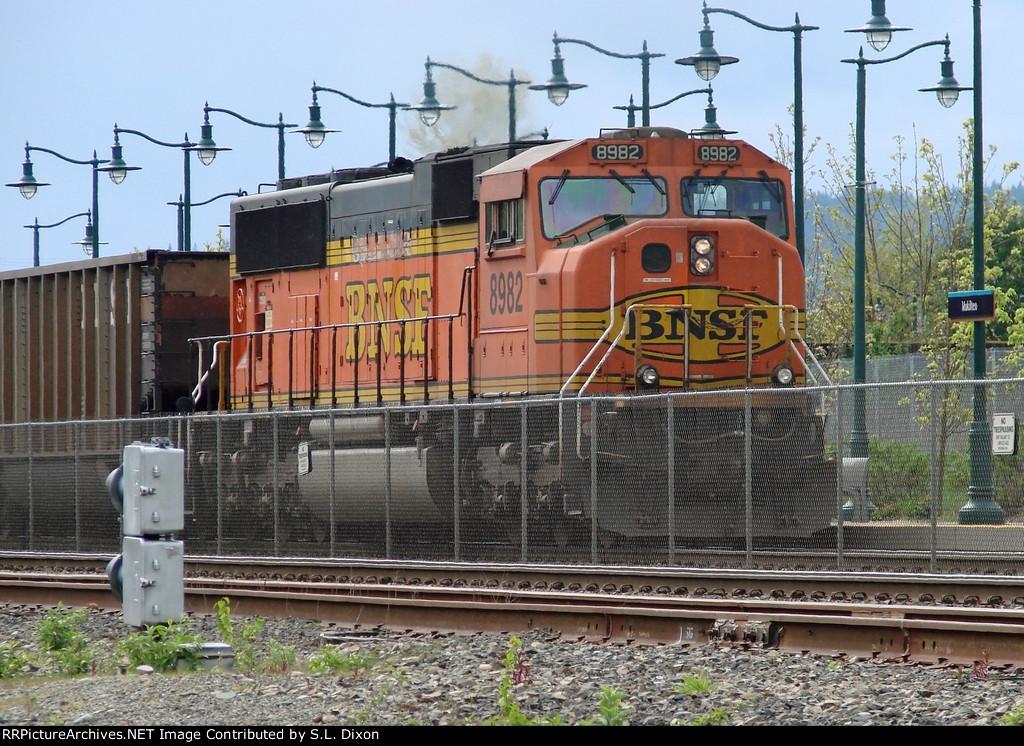BNSF 8982 DPU