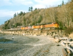 BNSF 4094 West @ Picnic Point