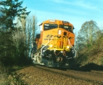BNSF 7611 West @ Picnic Point