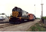 Detroit & Mackinac 281 and GTW 4610 on display for railroad days