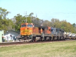 BNSF 545 supporting our troops