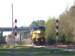 "CSX 9002 enters the ""Folkston Funnel"""