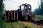 CR SW-1 8578 on a local train at Piscataway NJ in the Summer of '78