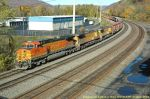 11R With Engines BNSF 5158 Up 7124 UP 7226