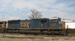 CSX 4740 and her engineer