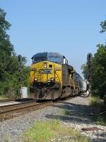 CSX 636 on Q547 Southbound