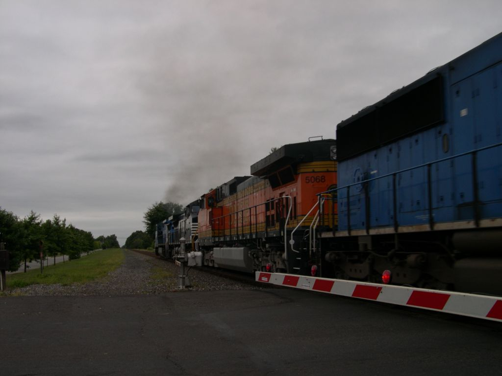 Conrail Quality 8375 Leads A Northbound Train Through CP-Port Reading Junction