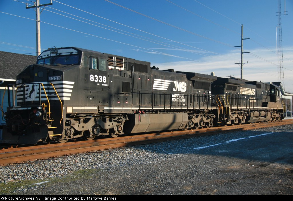 NS 8338 & 8769 bask in the late afternoon sun