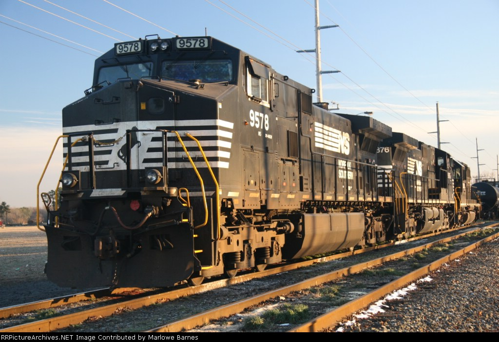 NS 9578 & Co waiting for the next assignment
