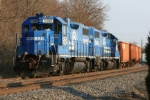 Geeps in that classic Conrail look.