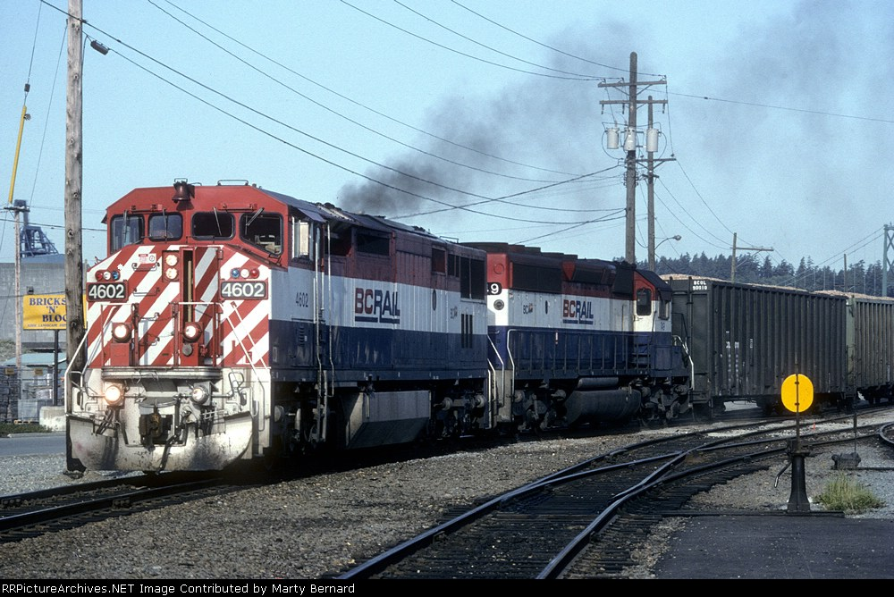 BC Rail 4602 and 749