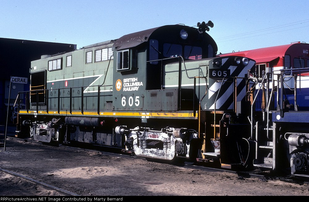 BC Rail 605