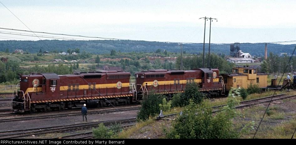 DM&IR 192 and 165