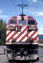 BC Rail 6007, A Face That Only a Mother Could Love