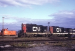 CN GP9s 4521 and 4455