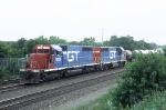 GTW 5928 and 6404At Belmont Ave. on the BN