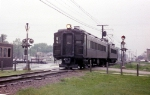 Nortbound Illinois Central Electric Commuter Train on the Blue Island Branch