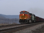 BNSF 4176 leads U-SEMBIR at speed