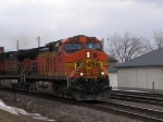 BNSF 5432 with another WB Stack