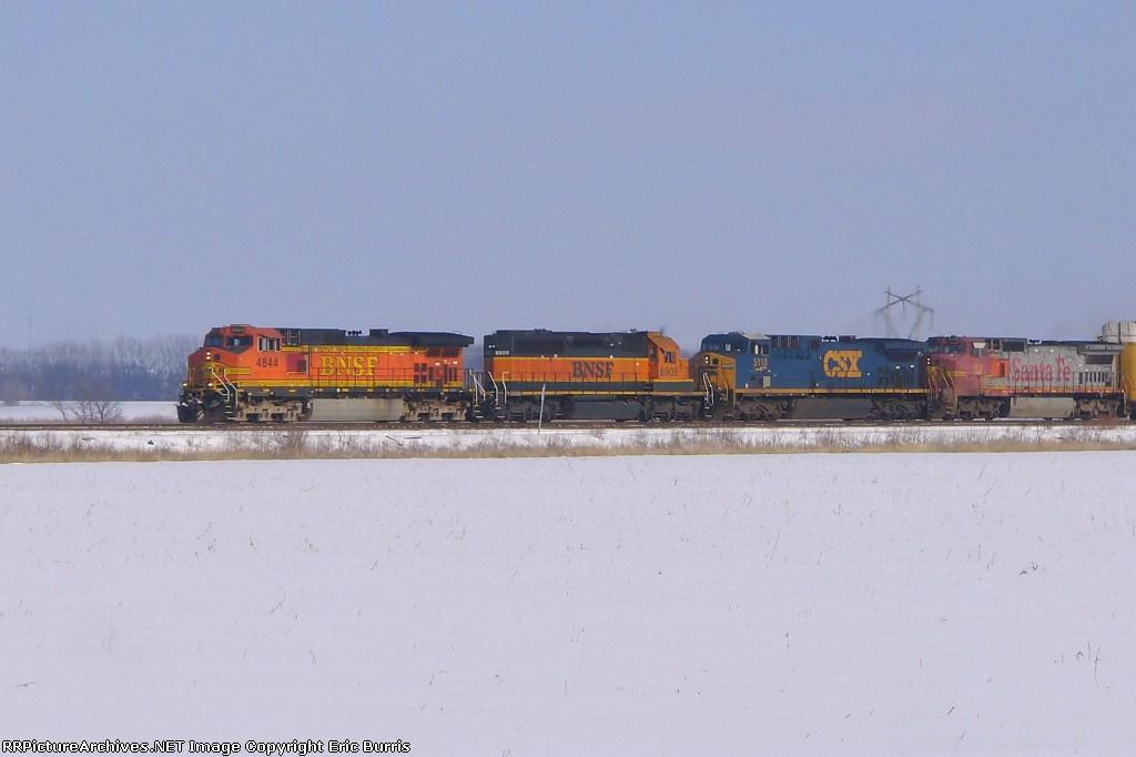 BNSF 4844 west