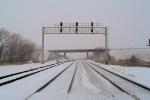 westbound signals at Merrick