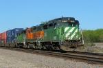 BNSF 2807 west
