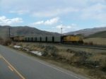 Coal Trains, both empty and loads at Phippsburg Co