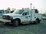 csx hi-rail welders truck