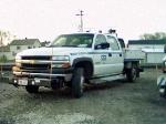 csx hi-rail utility truck