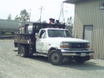 Illinois central welders hi-rail truck