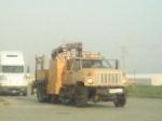csx hi-rail boom truck