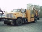 csx welders hi-rail truck