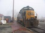 CSX Mother/Slug set at the depot