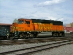 BNSF Local Power in Colorado Springs Co