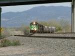 BNSF SB at Kelker Siding, Colo. Springs, Co.