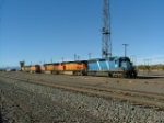 CEFX 3128 with BNSF units in Pueblo