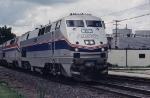 Amtrak 77 Arriving