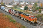 BNSF 4435 on CSX Q380-19