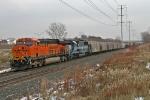BNSF 7558 on CSX Q291-07