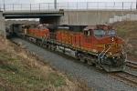 BNSF 4392 on CSX Q380-13