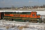 BNSF 8636 on CSX Q380-16